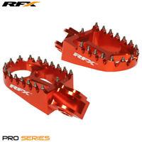 RFX Pro Series Foot Pegs Orange KTM EXC 200 250 300 2008 2009 2010 2011