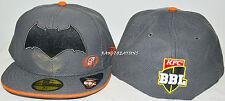 New - Perth Scorchers 59FIFTY Batman Cap BBL Big Bash Hat Cricket - Size: 7 1/4