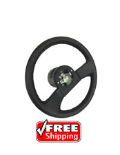 1984 - 1989 Corvette Leather Reproduction Steering Wheel.Classic auto parts NEW!