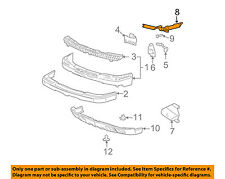 Chevrolet GM OEM 03-06 Silverado 2500 HD Front Bumper-Filler Left 15188701