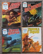 Battle Picture Library: 4 x 1969 - 1970 issues. 427, 433, 442, 443; very good.