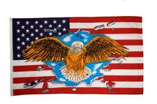 Fahne USA Wyoming Flagge amerikanische Hissflagge 90x150cm