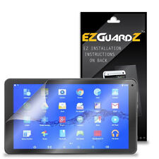 """2X EZguardz LCD Screen Protector Cover HD 2X For Digiland DL1008 10.1"""" Tablet"""