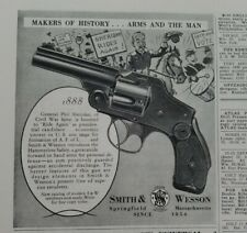 1939 Smith and Wesson revolver gun 1888 history arms and the man vintage ad