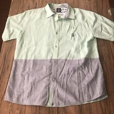 Volcom Men's Button Up Casual Shirt Size M #12688