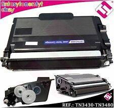 TONER NERO TN3430 TN3480 COMPATIBILE PER STAMPANTI ICT BROTHER