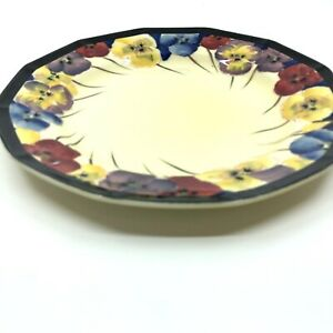 Royal Doulton Pansy Art Deco Dinner Plate 1925