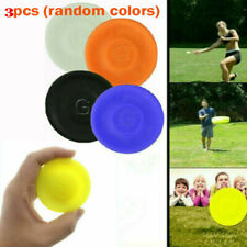 3 Mini Pocket Flexible New Spin Catching Game Flying Disc Garden Beach Outdoor