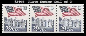 USA5 #2609 MNH PNC3 Pl # 6 Flag over White House