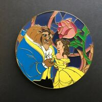 Beauty and the Beast - Super Jumbo Stained Glass Rose LE 75 FANTASY Disney Pin 0