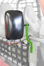 Jeep Wrangler TJ 1997-2006, Steinjager Tube Door Mirror Kit, Neon Green