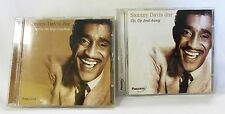 Sammy David Jnr lot of 2 CD up up and away every time we say goodbye