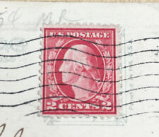 1918 GEORGE WASHINGTON 2 CENT RED STAMP
