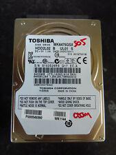 "Toshiba 640GB SATA 2.5"" Laptop Hard Disk Drive HDD MK6475GSX (505)"