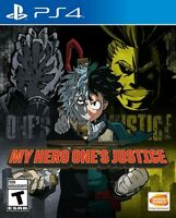 My Hero One's Justice for PlayStation 4 [New Video Game] PS 4