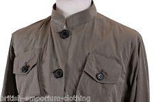 RARE Aquascutum GREY SASSARI Rain Coat Uk8 rrp £550 BNWT