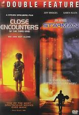 Close Encounters Of The Third Kind 3Rd 1977+ Starman 1984 Star Man Dvd Movie Set
