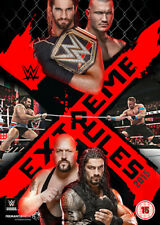 WWE: Extreme Rules 2015 DVD (2015) Seth Rollins cert 15 ***NEW*** Amazing Value