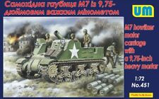 M7 with 9.75-inch heavy mortar << UM #451, 1:72 scale