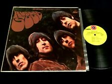 THE BEATLES Rubber Soul 1969 CAPITOL ST- 8-2442 GREEN LBL RECORD CLUB LP