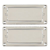 Chrome Mini Humbucker Pickup Sealed for Electric Guitar Parts Replacement