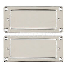 Chrome Electric Guitar Mini Humbucker Pickup Set Sealed for Guitar Parts