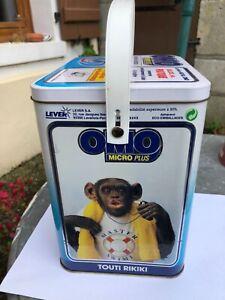 ancienne boîte baril lessive Omo déco rétro vintage maousse costo