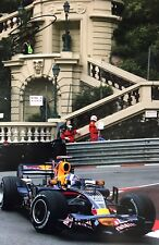 David Coulthard Firmato a Mano RED BULL RACING 18x12 foto 7.