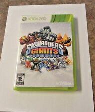 Skylanders: Giants (Microsoft Xbox 360, 2012)  COMPLETE      FAST SHIPPING !!