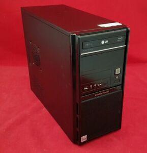 TOWER PC INTEL CORE I7 3.4GHZ 8GB 500GB HDD BLURAY DVDRW WIN10 PRO