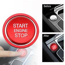 Für VW Golf 7 MK7 GTI R Jetta CC Motor Start Stop Knopf Abdeckung Ring Trim Rot