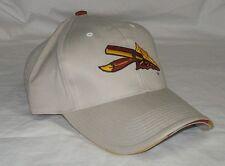 NEW NCAA THE GAME SLIDE BUCKLE CLOSURE HAT - FLORIDA STATE - KHAKI