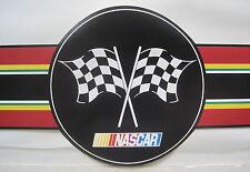 "NASCAR RACING LOGO STOCK CAR Wallpaper Border 8 1/2"" black"