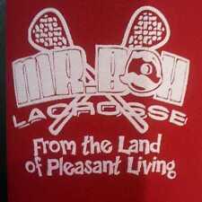 Mr Boh Lacrosse Beer Koozie Natty Boh Lax National Beer