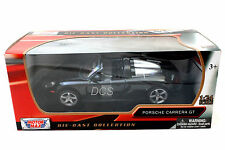 MotorMax PORSCHE CARRERA GT BLACK 1/24 Diecast Car 73305BK