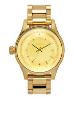 New Nixon Facet 38 Gold Tone Stainless Steel Quartz Women's Watch A409502