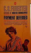 PAYMENT DEFERRED by C. S. Forester Suspense Novel Popular Library Paperback Book