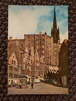 The Grassmarket, Edinburgh - Vintage Postcard