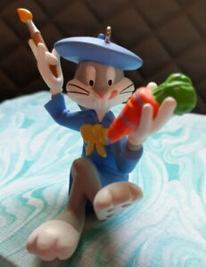 "Hallmark Keepsake Ornament "" Bugs Bunny"" 1995 Easter"