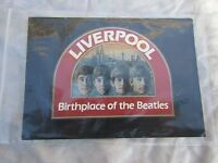 BEATLES LIVERPOOL BIRTH OF THE BEATLES POSTCARD