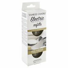 Baby Powder Scent Plug Refills 1509032E White by Yankee Candle
