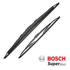 Porsche 911 (996) 97-04 Bosch Super Plus Front Wiper Blades Set Spoiler Pair