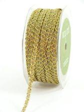 1/4 Inch wide Metallic / Chain Cord Ribbon price for 2 yard