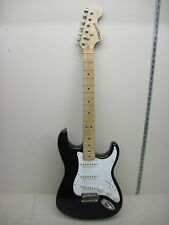 Fender Starcaster Electric Guitar Black & White Very Clean!!