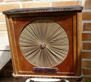 haut parleur Poste TSF radio ancien