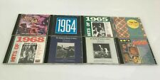 8 x Compilation CDs Greatest Hits Legends of 1960s 60s Some Rare Rock N Roll