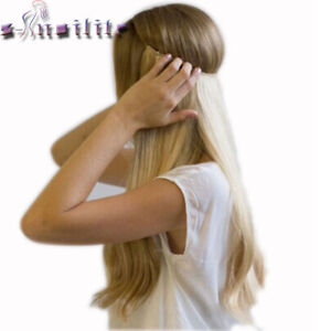 S-noilite 20 inches Invisible Wire No Clips in Hair Extensions Secret Fish Line