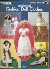 PAA5 Crocheted Fashion Doll Clothes - 12 Patterns by Leisure Arts 1983