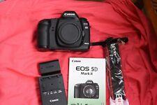 Canon EOS 5D Mark II Full Frame DSLR Camera (Body Only) Shutter count 3850