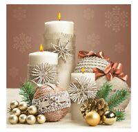 Christmas Napkins for Decoupage Paper Craft Serviettes Table 33x33cm 3PLY x20